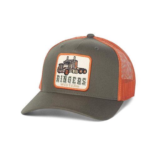 RINGERS WESTERN Long Haul Trucker Army & Terracotta