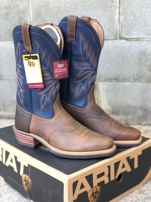 MENS ARIAT HERITAGE SADDLE BACK BOOT