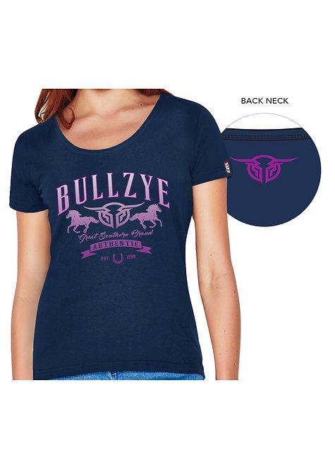 LADIES BULLZYE GREAT SOUTHERN TEE
