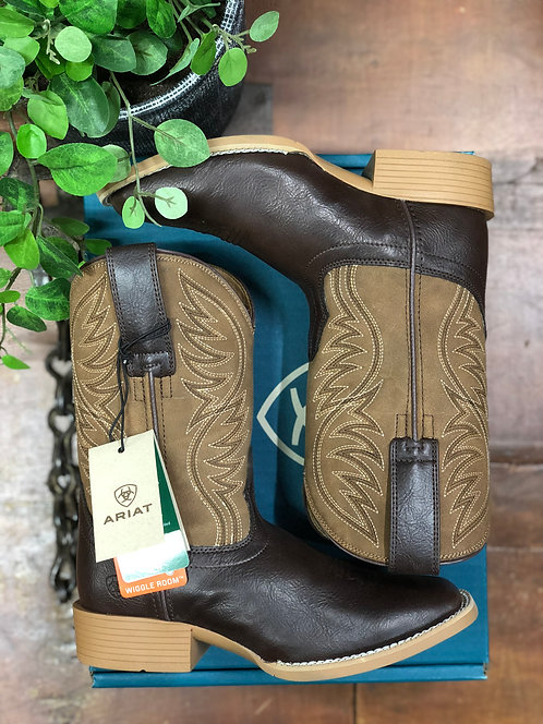 KIDS ARIAT BRUMBY BOOTS- FUDGESICKLE