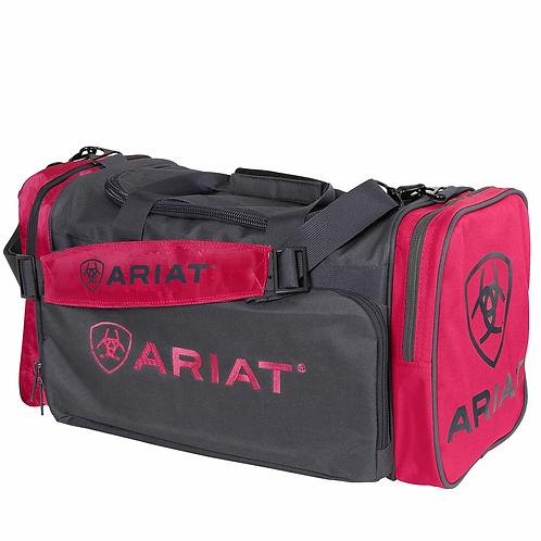 JNR ARIAT GEAR BAG- PINK / CHARCOAL