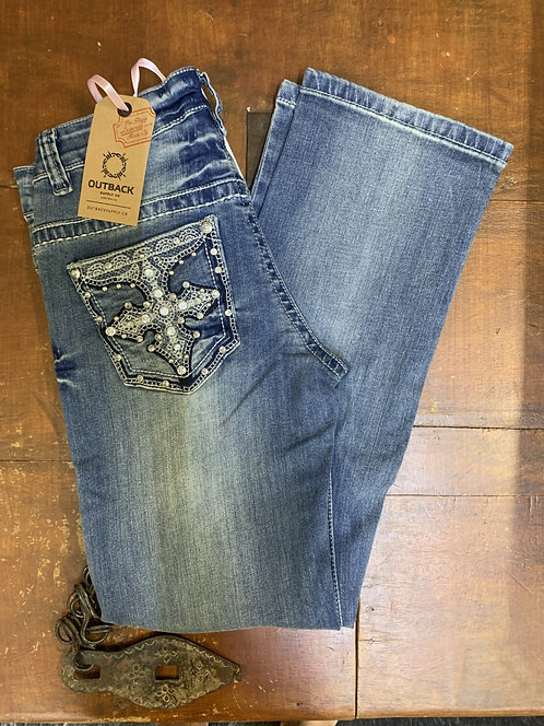 KIDS OUTBACK PREMIUM BLING JEAN