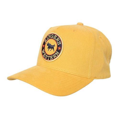 RINGERS WESTERN DROVER BASEBALL CAP- AMBER