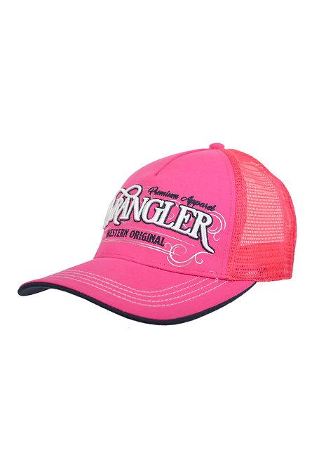 LADIES WRANGLER ANJELICA CAP- PINK