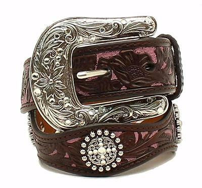 ARIAT GIRLS SCALLOPED BELT