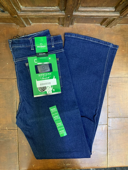 MENS OUTBACK SUPPLY CO WESTERN FIT STRETCH SLIM FIT - OBMS10