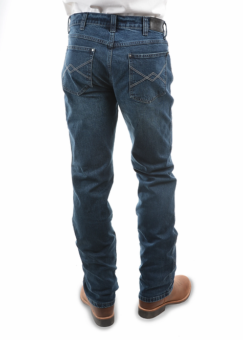 MENS PURE WESTERN Heath Slim Straight Jeans
