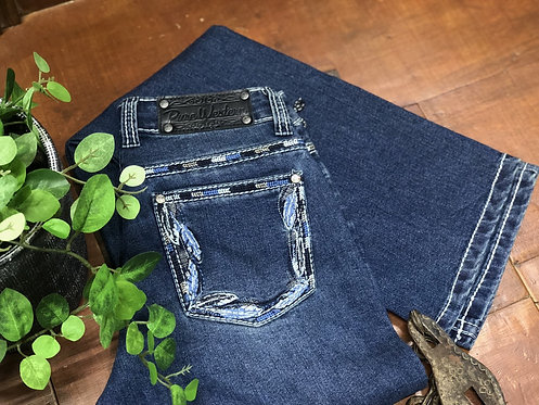 LADIES PURE WESTERN LOUISIANA RELAXED RIDER JEAN