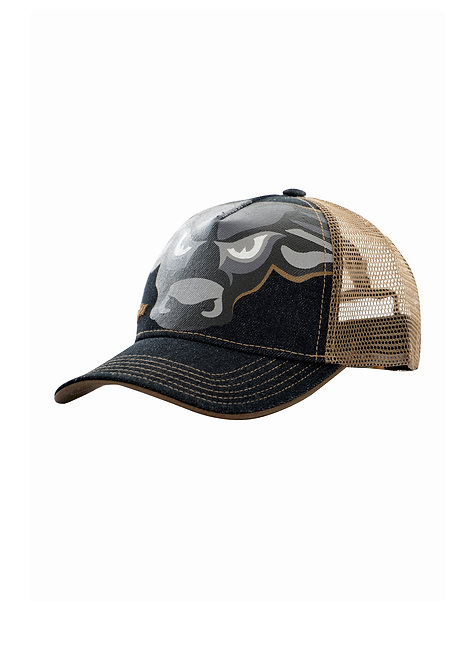 BOYS WRANGLER DENIM TRUCKER CAP