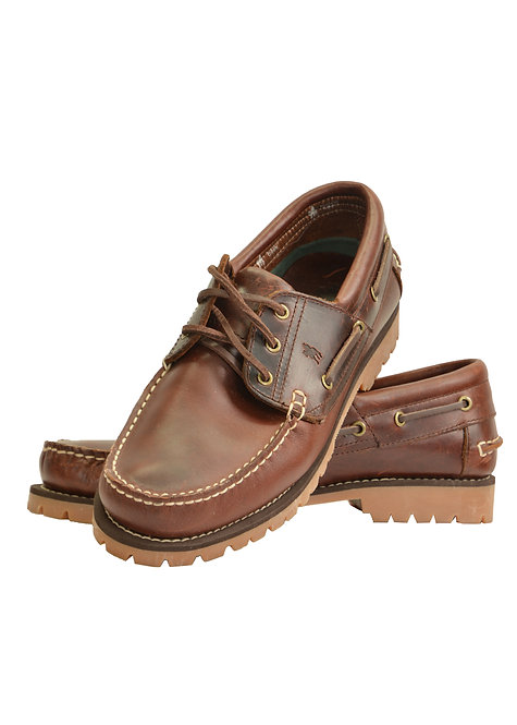 TC MENS CRUISER BOAT SHOE - CLEATED SOLE