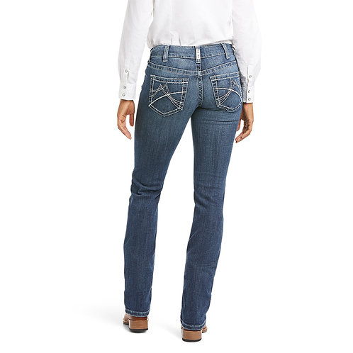 LADIES ARIAT REAL MID RISE ARROW FIT GIANNA STRAIGHT