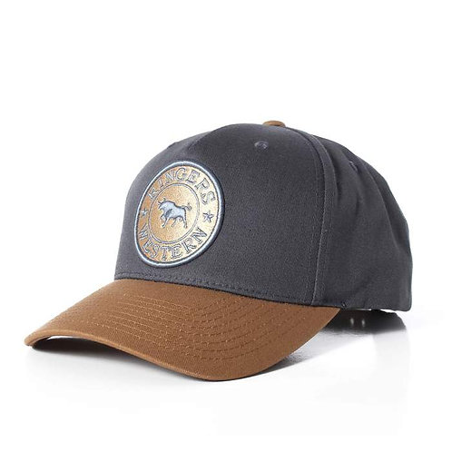 RINGERS WESTERN Drover Baseball Cap - Charcoal