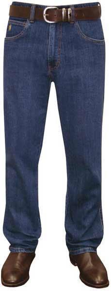 MENS THOMAS COOK STRETCH COMFORT WAIST JEAN MID-REG-STRAIGHT 32 LEG