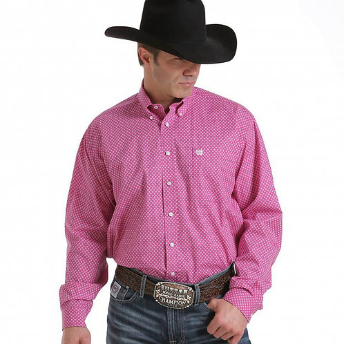 MENS CINCH WALTER PRINT L/S SHIRT
