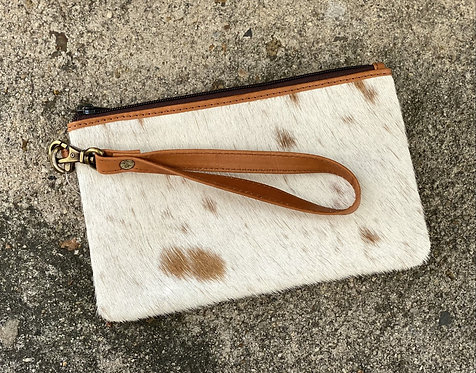 TORONTO COWHIDE WALLET- TAN