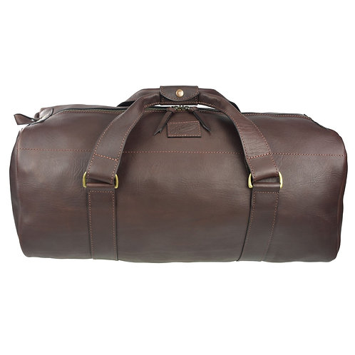 AKUBRA MURRAY DRUM BAG 55 LTR - LEATHER