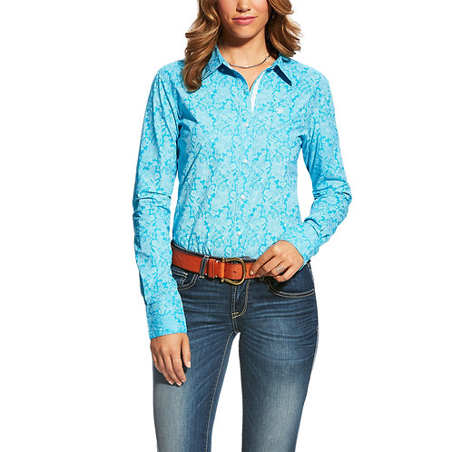 LADIES ARIAT KIRBY LIVINGSTONE L/S SHIRT