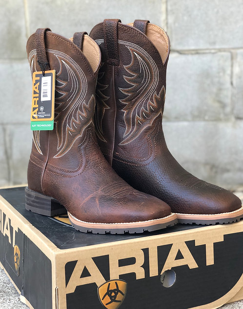 MENS ARIAT HYBRID RANCHER BOOTS