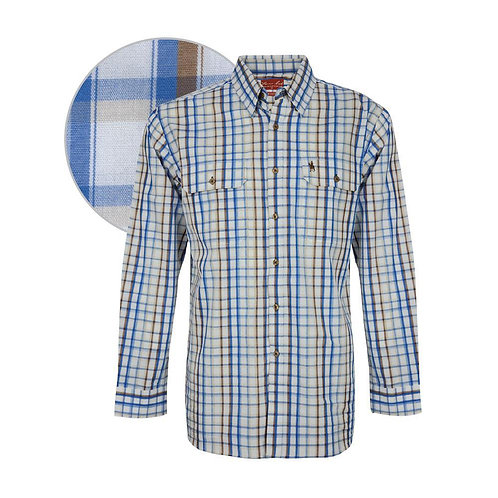 MENS THOMAS COOK HARROW CHECK L/S SHIRT