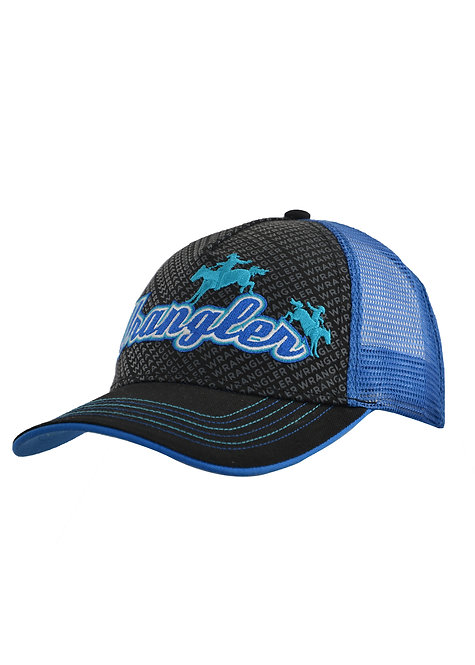 BOYS WRANGLER RODEO TRUCKER CAP