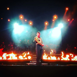 Pyro skills at its best along with Brendan Cole in place for his Paso Double! 💃🎭 I really do love