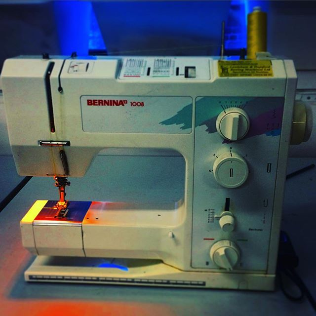 Learnt how to use the Sewing Machine