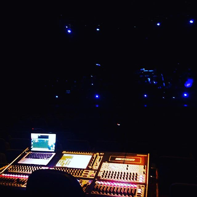 DiGiCo SD8 Sound Mixing Desk looking beautiful for tonight's show! 😍👌 #DiGiCo #SD8 #SoundDesk #Bre
