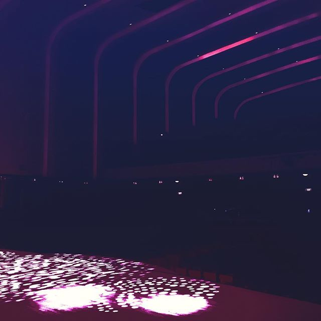 Venue 10 - Liverpool Philharmonic Hall! 👌💃🎭 #BrendanCole #UKTour #VenueTen #SexyLighting #Liverpo