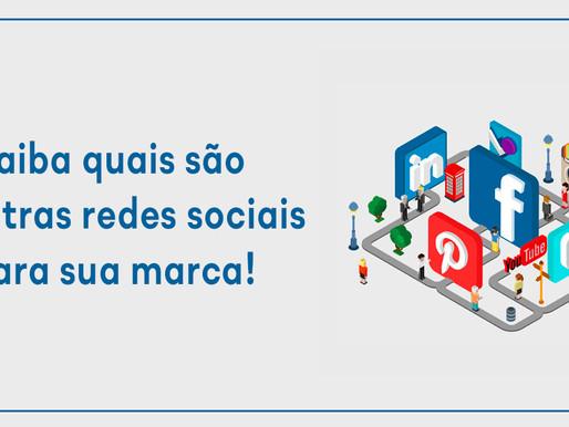 Saiba quais são as outras redes sociais para sua marca!