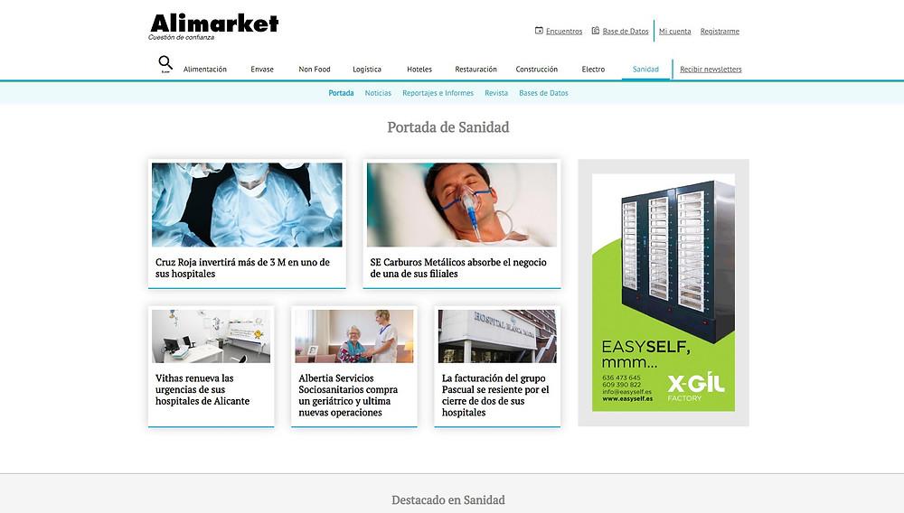 Alimarket - Portail santé
