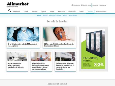 Le site Alimarket met en avant la solution EasySelf sur son portail santé