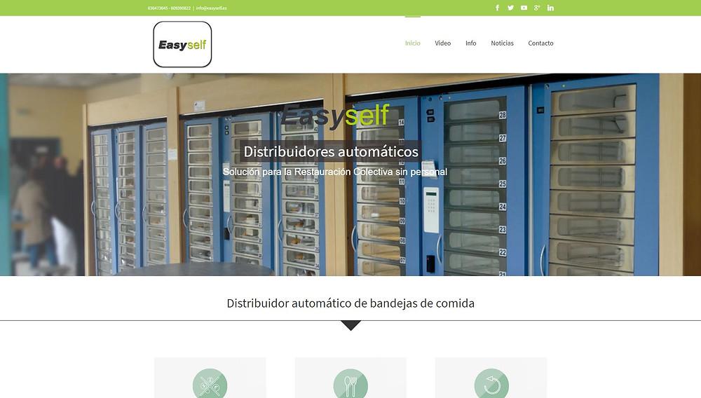 Site officiel du fournisseur espagnol de la solution EasySelf
