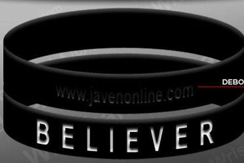 Believer Black Wrist Band