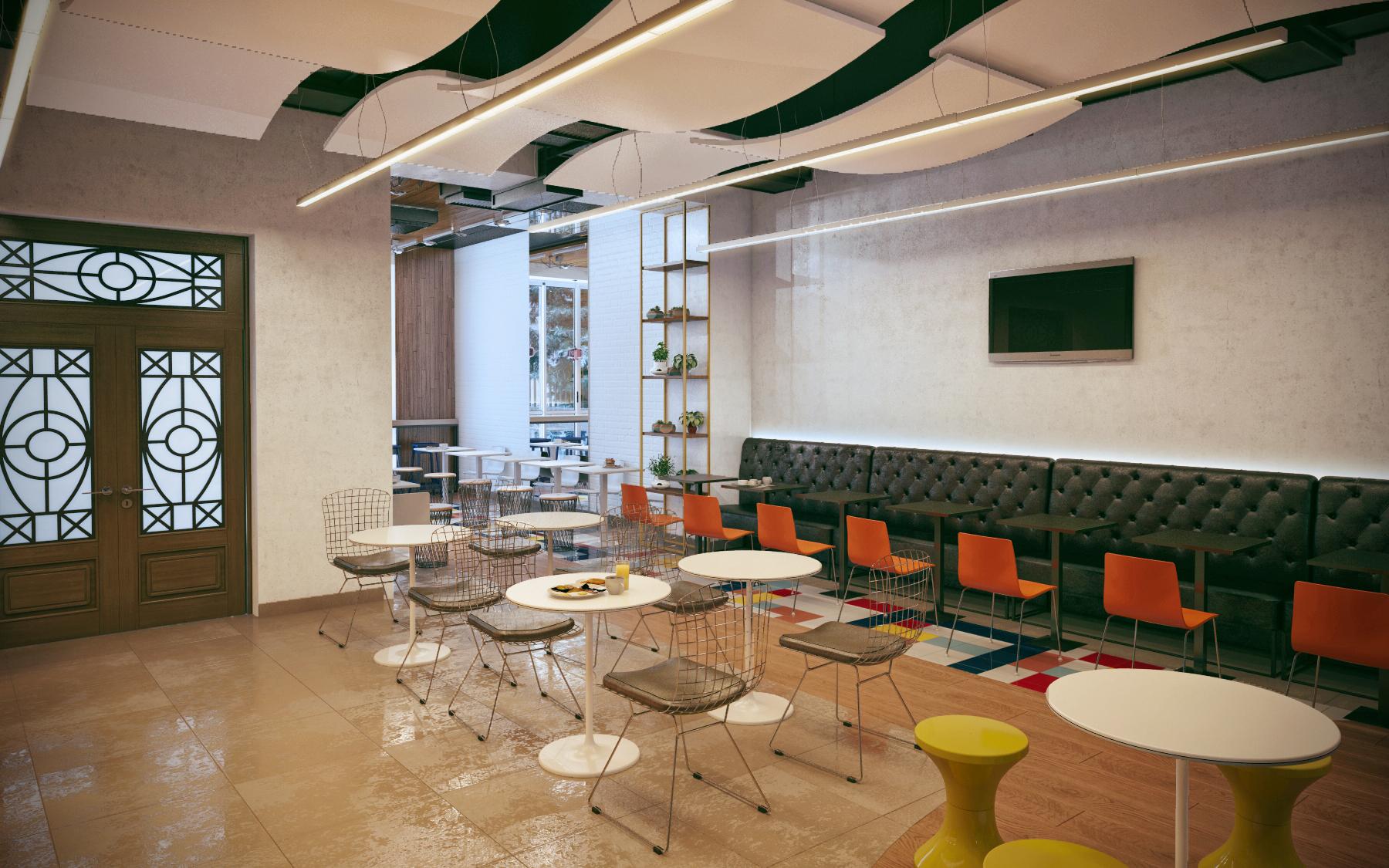 Дизайн сети кафе Дёнер