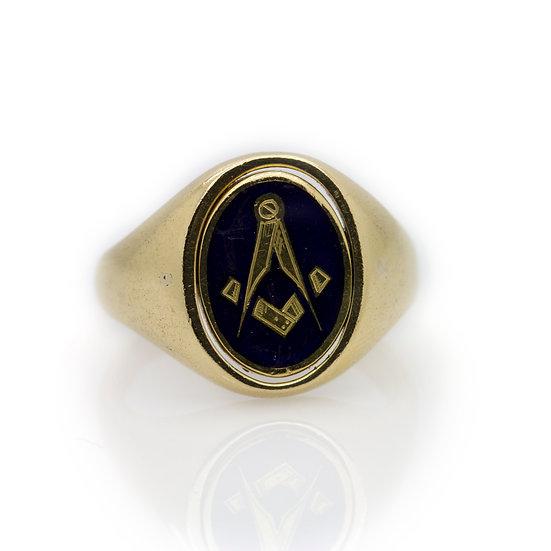 Masonic Swivel Ring