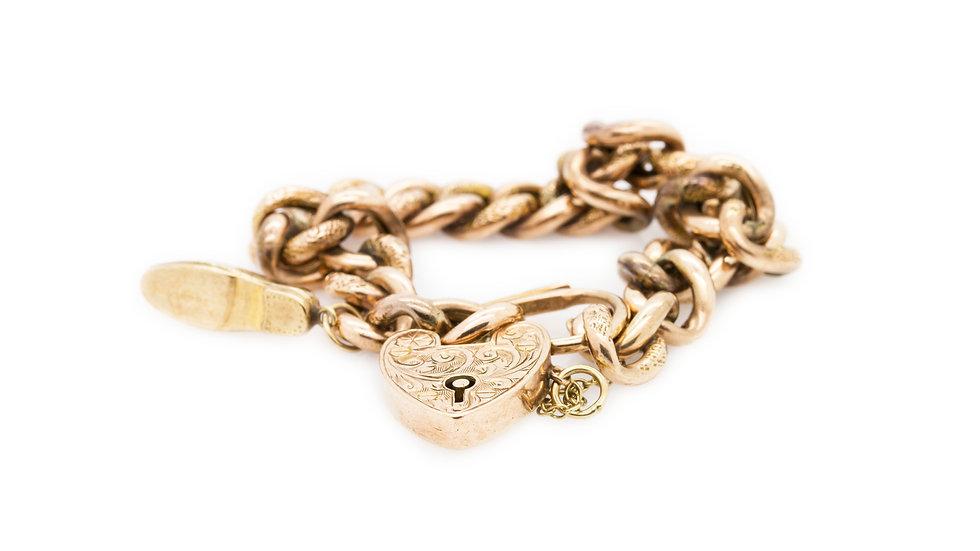 Rose Gold Links Bracelet