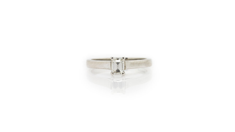 Solitaire Diamond Ring view 1