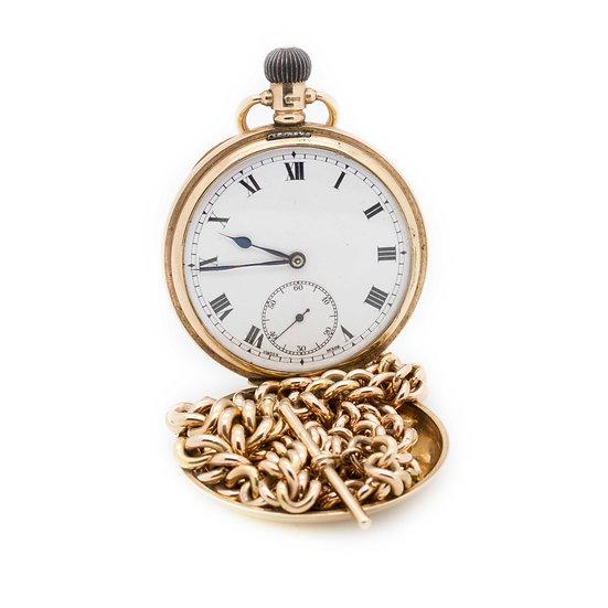 Pocket Watch & Albert Chain