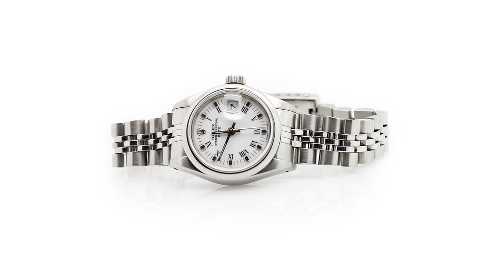 Rolex Oyster Perpetual Date Stainless Steel Unisex view 1