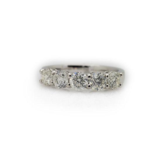 5 Stone Diamond Ring mulroy antiqus