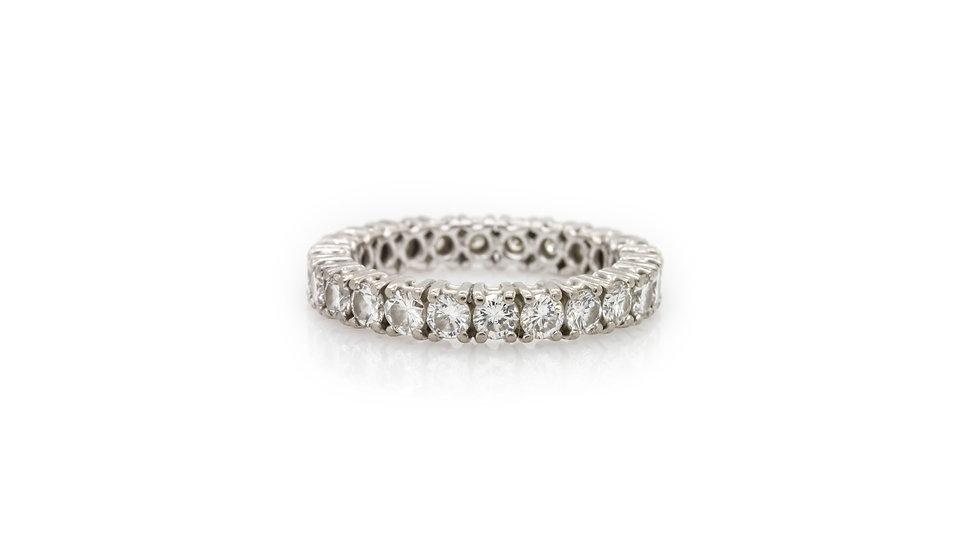 2.50ct Diamond Eternity Ring Grosvenor Jewellers view 1