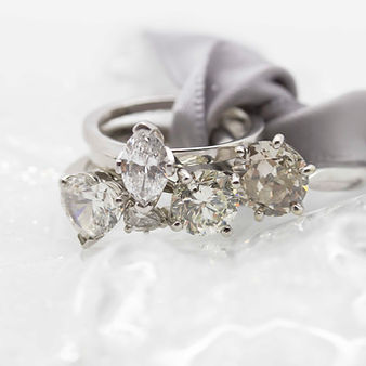 solitaie engagement rings by mulroy antiques