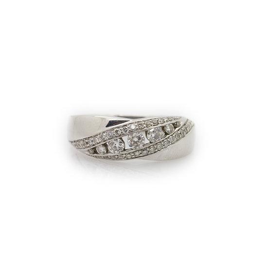 Diamond Band Ring view 1