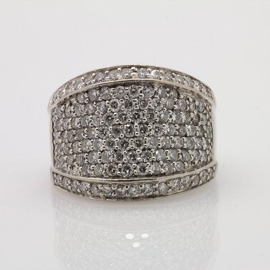 Pave Diamond Cocktail Ring