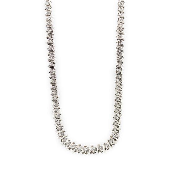 7 Carat Diamond Necklace