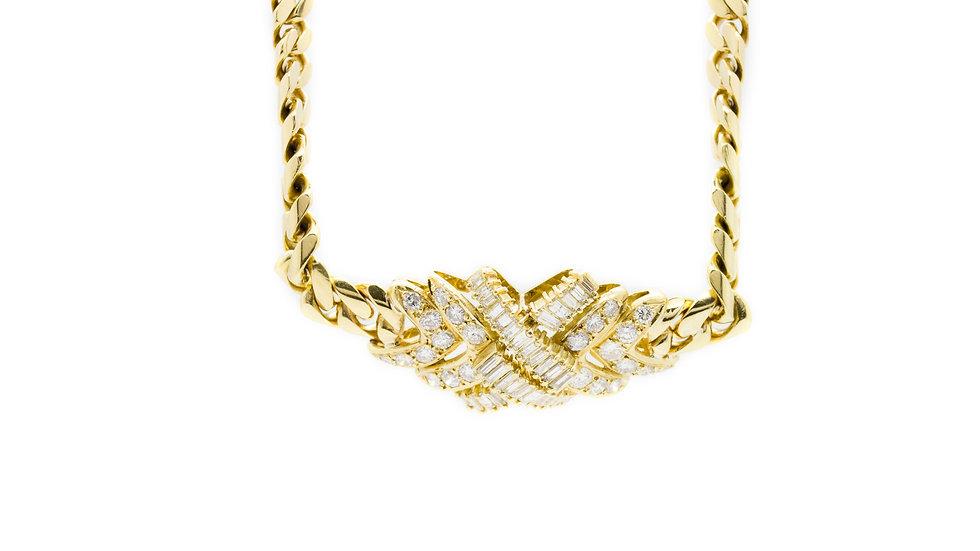Diamond Necklace & Bracelet