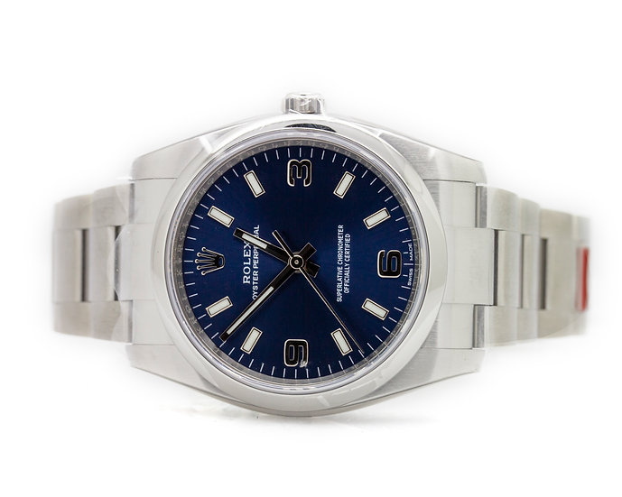 Oyster Perpetual Blue Dial Men's Watch