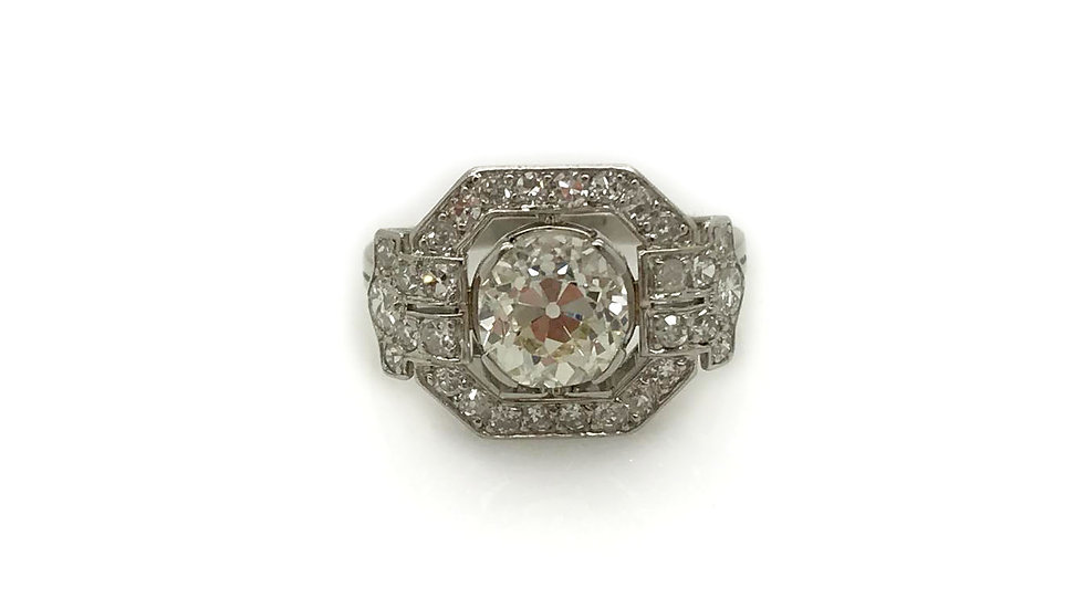 Art Deco Diamond Ring view1