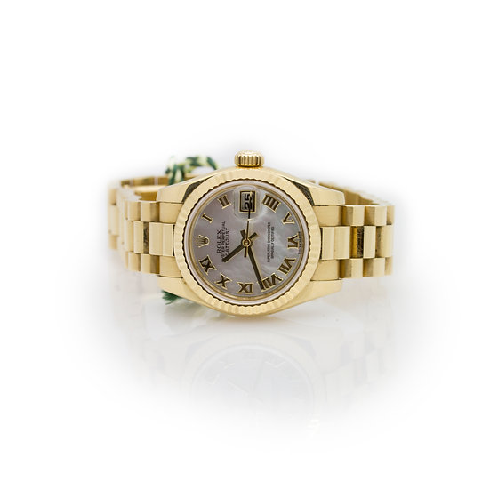 Rolex President Gold Mother Pearl