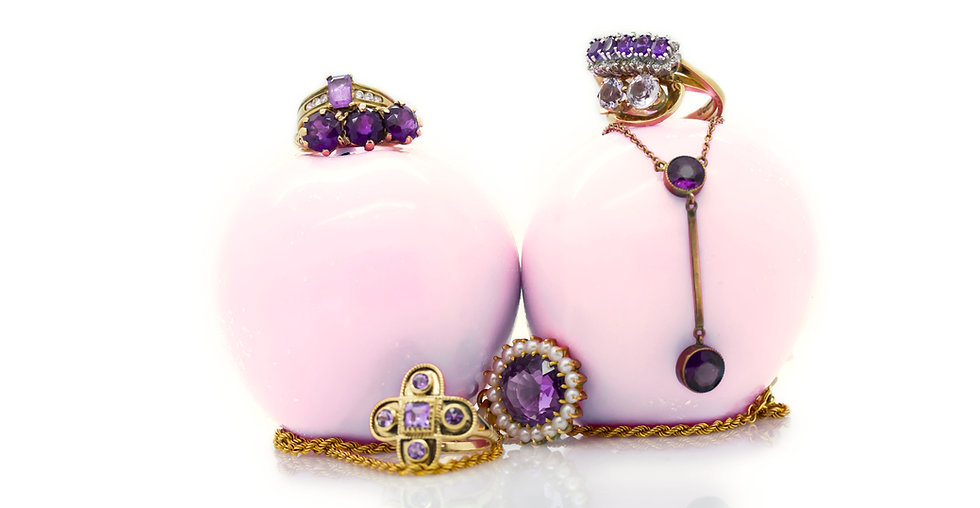 Mulroy Antique Amethyst Collection